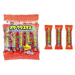 メリークリスマスふ菓子 20円×15