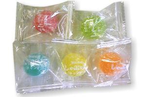 ザラ付大玉フルーツキャンディ 10円×100
