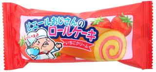 ロールケーキ【いちごクリーム】 20円×24