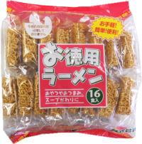 お徳用ラーメン 20円×16