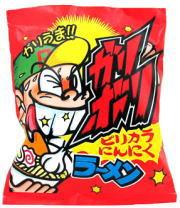 ガリボリラーメン ピリカラにんにく味 20円×21