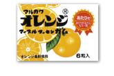 マーブルガムオレンジ【マルカワ】20円×33