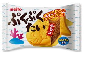 ぷくぷくたいチョコ 60円×10