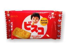 グリコ ビスコ【クリームサンド】 40円×20
