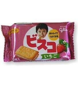 グリコ ビスコ【いちご】 40円×20