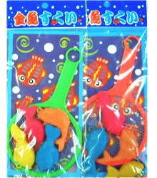60円×12 台紙金魚すくい