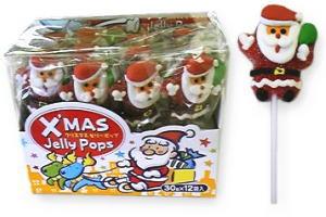 クリスマスゼリーポップ 60円×12
