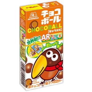 チョコボールキャラメル 80円×20