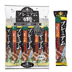 プレミアムうまい棒 和風ステーキ 20円×10