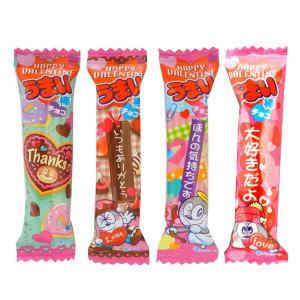 バレンタインうまい棒 チョコレート味 10円×30
