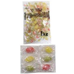 フルーツのど飴(ケース) 1Kg×8
