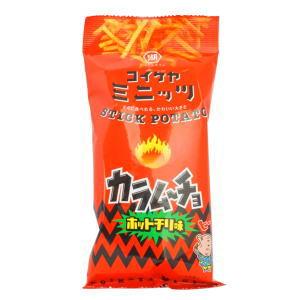 スティックポテトカラム〜チョホットチリ味 100円×6