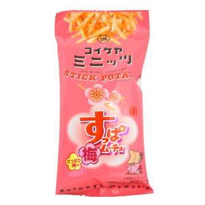 スティックポテトすっぱムーチョさっぱり梅味 100円×6
